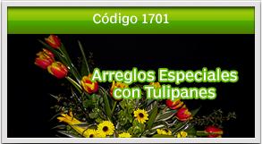 arreglos con tulipanes a domicilio
