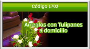 arreglos con tulipanes a paseo cayala