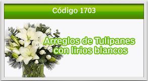 arreglos con tulipanes a tikal futura