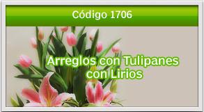 arreglos con tulipanes a zona 15