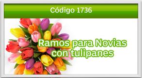 envio de tulipanes para novios