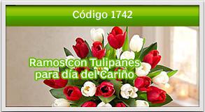 ramos con tulipanes en guatemala