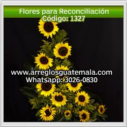 Arreglos de rosas para reconciliación