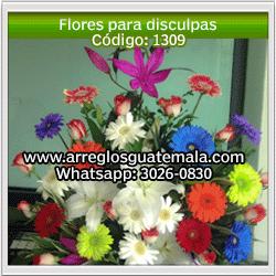 Flores para disculpas