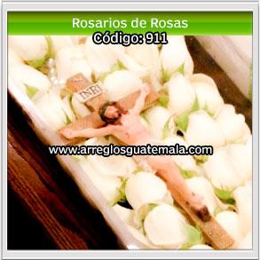 rosarios bellos de rosas para funerales