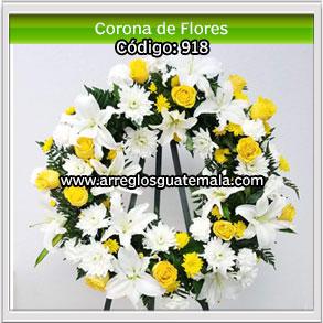 mandar coronas de flores
