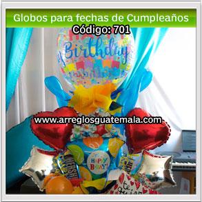 globos para fechas de cumpleaños