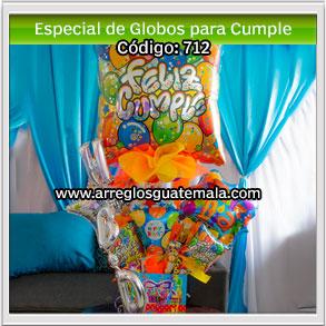 envió de regalo especial para cumpleaños con globos en guatemala