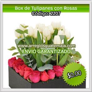 envio de tulipanes para dia del cariño