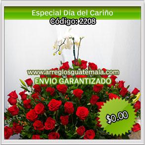 floristerias a domicilio para dia del cariño en guatemala