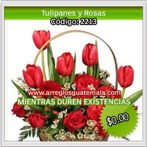 tulipanes para enamorados en guatemala