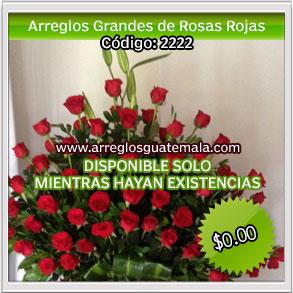 arreglos grandes de rosas