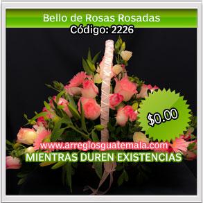 rosas en canastas para dia del amor y la amistad
