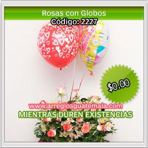 envio de flores y globos en guatemala