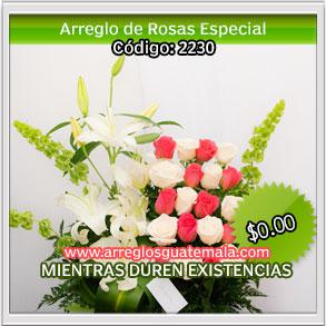 mandar flores bellas para dia del cariño en guatemala