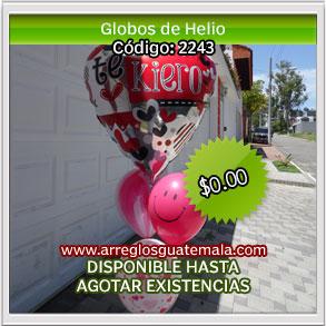 globos para dia del cariño