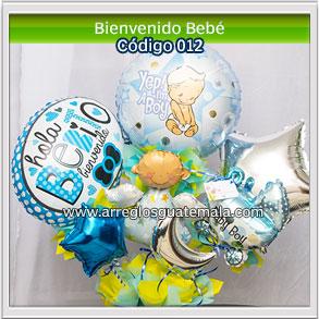 globos para felicitar por nacimiento de bebe