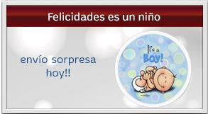 envio sorpresa hoy de felicidades es un niño - balloons its a boy