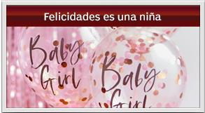 envio sorpresa hoy de felicidades es una nena - balloons its a girl