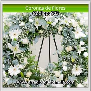 coronas de flores grandes de tributo para difuntos