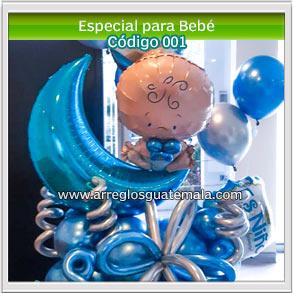 globos para regalar a bebes que acaban de nacer