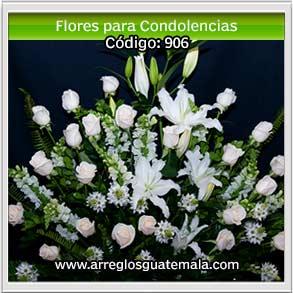 flores para enviar condolencias