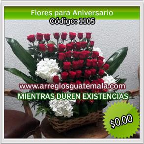 flores para fechas de aniversario