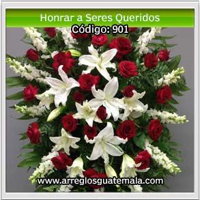 flores para honrar memoria de seres queridos