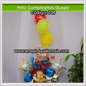 globos de feliz cumpleaños para guapo