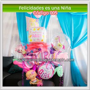 globos para bebe felicidades por el nacimiento de la bebe