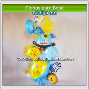globos para felicitar a padres por nacimiento de bebe