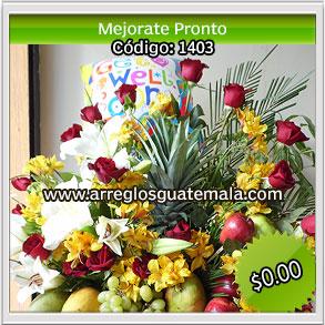 mejorate pronto con flores en guatemala a domicilio