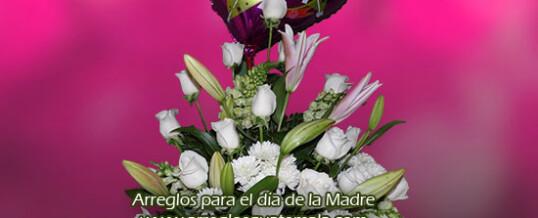 Arreglo floral en el dia de la madre