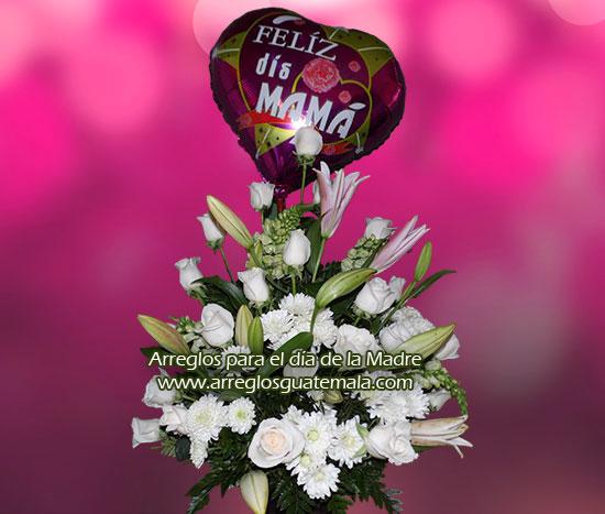 Envio de flores para día de la madre, abuelita, pariente o amiga especial