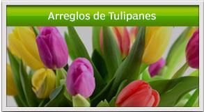 arreglos de tulipanes