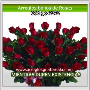 arreglos bellos de rosas