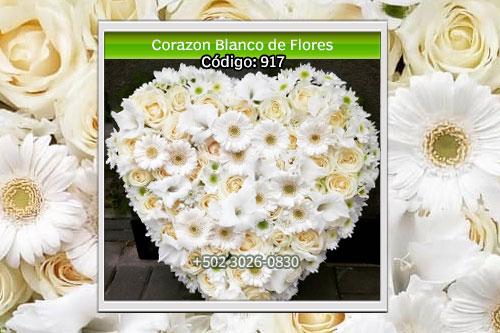 corazon de flores
