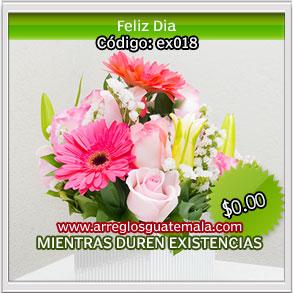 flores a domicilio en guatemala de feliz dia