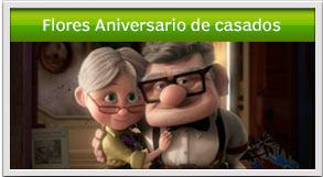 flores de feliz aniversario de casados