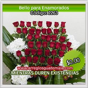 entrega de flores dia del cariño