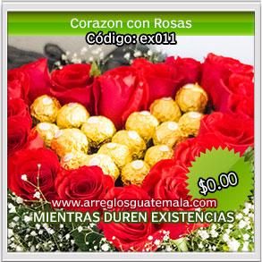 flores a domicilio en guatemala para dia del cariño