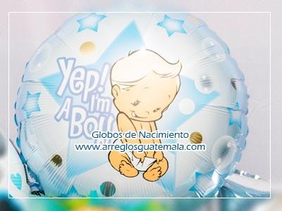 Globos de Nacimiento en Guatemala para felicitar