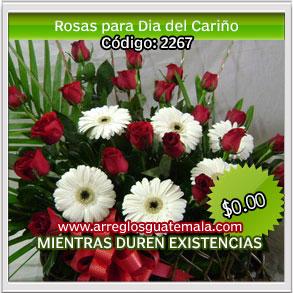 flores para san valentin en guatemala