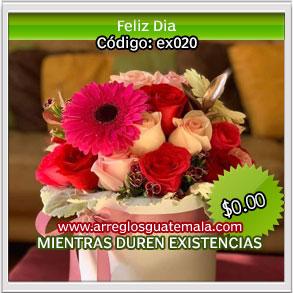 delivery flores 14 de febrero en guatemala