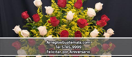 Flores para regalar en aniversario a domicilio
