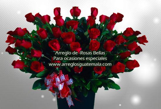 Arreglo de rosas para el 14 de febrero