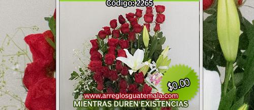 Arreglos de Rosas a domicilio en guatemala