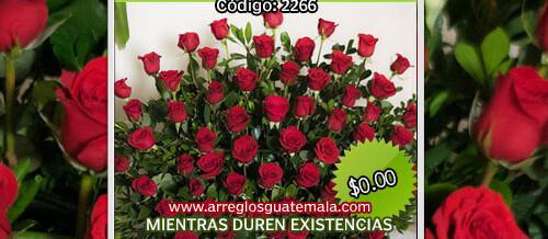 Arreglos de Rosas en Guatemala a domicilio