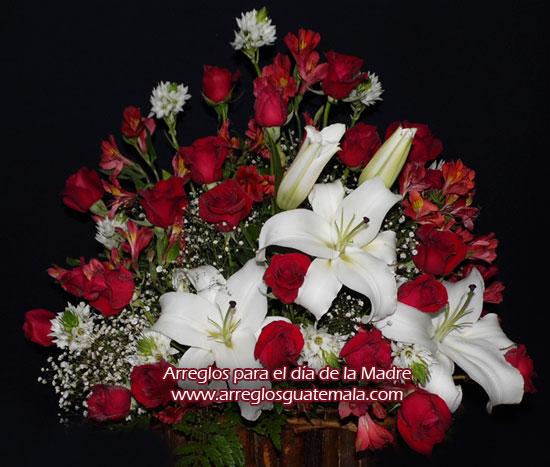 Arreglo de flores para regalar en Guatemala