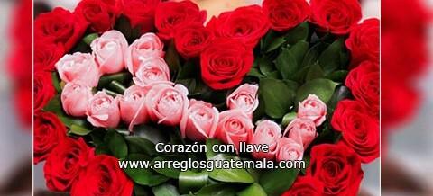 Corazón de Rosas a domicilio